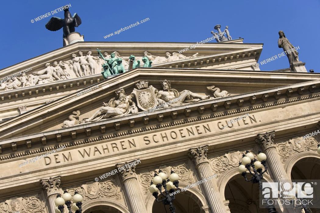 Stock Photo: Germany, Frankfurt on the Main, Opera House.