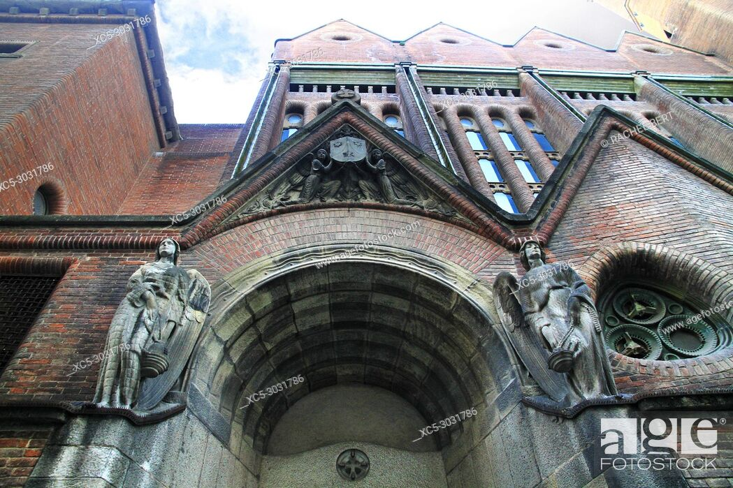 Stock Photo: Església de la Mare de Déu del Carme de Barcelona.