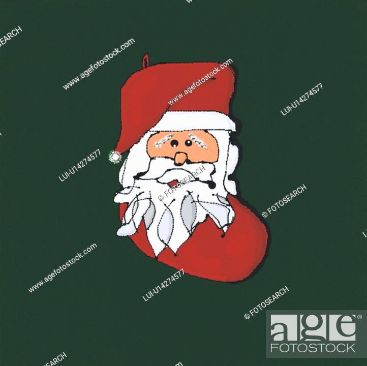 Stock Photo: Christmas Sock.