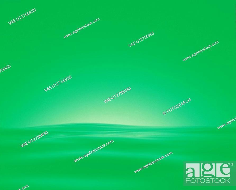 Stock Photo: nature, green, water, waterdrop, natural phenomenon, background.