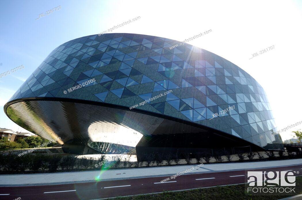 Stock Photo: Office Building, Hernani, Basque Country, Guipúzcoa, Basque Country, Spain.