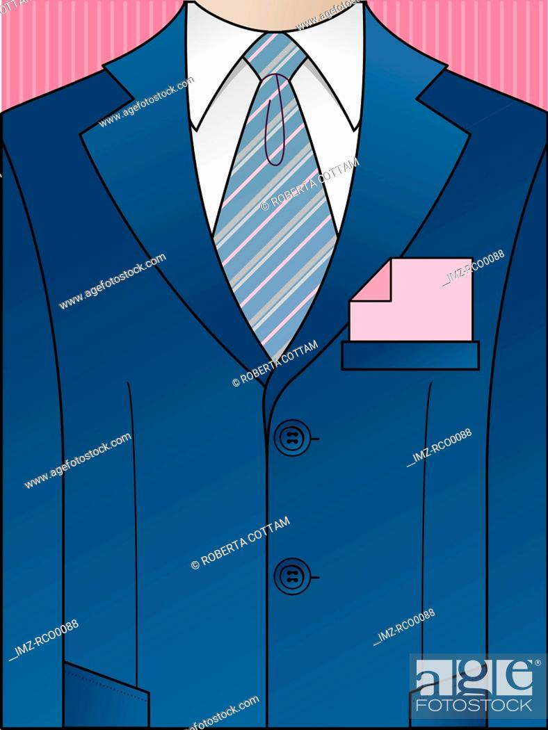 Stock Photo: A business suit.