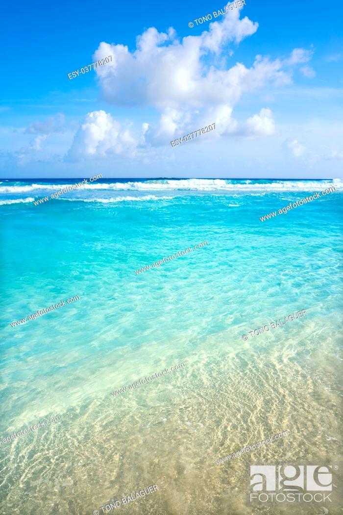 Imagen: Cozumel island San Martin beach in Riviera Maya of Mayan Mexico.