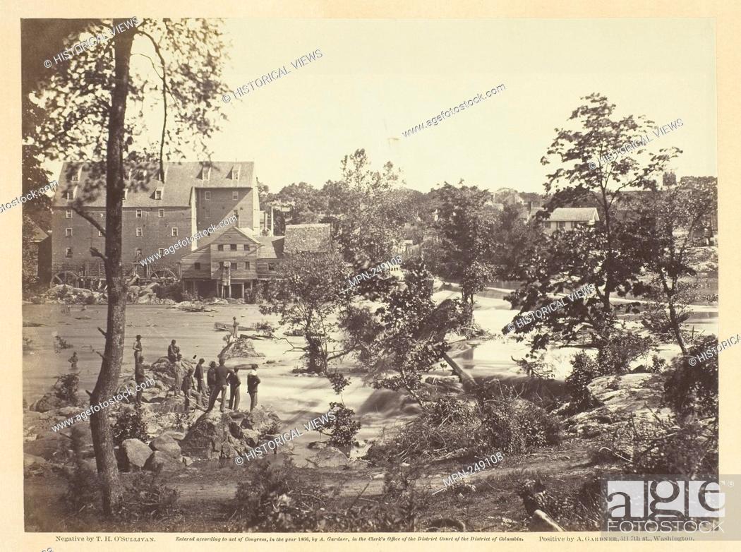 Imagen: Johnson Mill, Petersburg, Virginia - May 1865 - Timothy O'Sullivan American, born Ireland, 1840–1882 - Artist: Timothy O'Sullivan, Origin: United States.