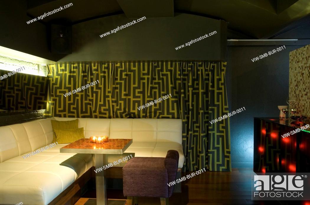 Satmoko ball architects. bureau nightclubseating area detail with