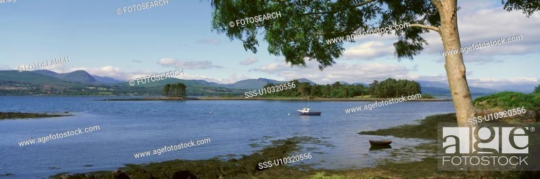 Stock Photo: Panoramic view of river.
