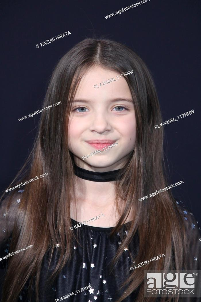 """Stock Photo: Madeleine McGraw 03/21/2018 """"Pacific Rim Uprising"""" Premiere held at the TCL Chinese Theatre in Hollywood, CA Photo by Kazuki Hirata / HNW / PictureLux."""