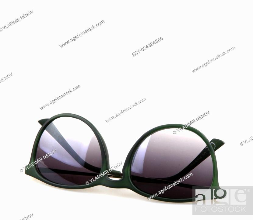 Stock Photo: sunglasses isolated on white.