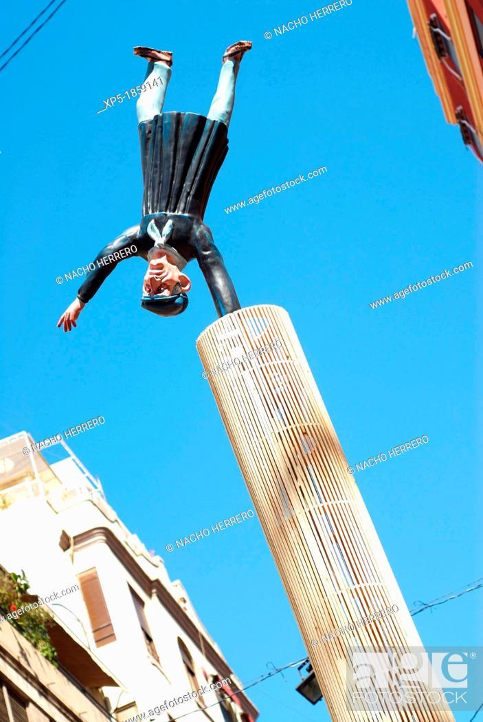 Stock Photo: Fallas, Valencia.