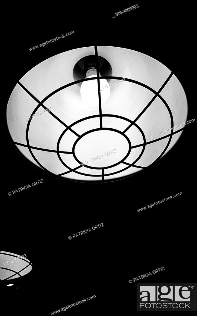 Stock Photo: Celling lamps.
