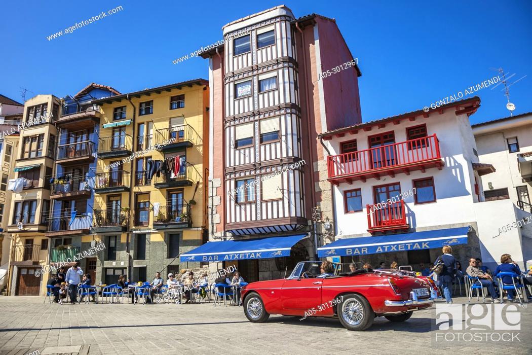 Stock Photo: Port of Bermeo. Urdaibai Region. Bizkaia. Basque Country. Spain.