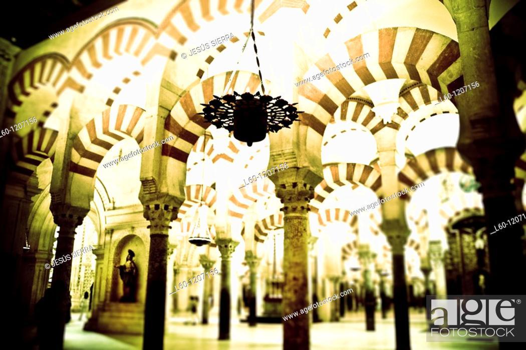 Stock Photo: Great Mosque  Córdoba  Spain.