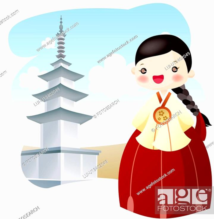 Stock Photo: south Korea, tourism, Asia, tourist attractions, sightseeing, travel.