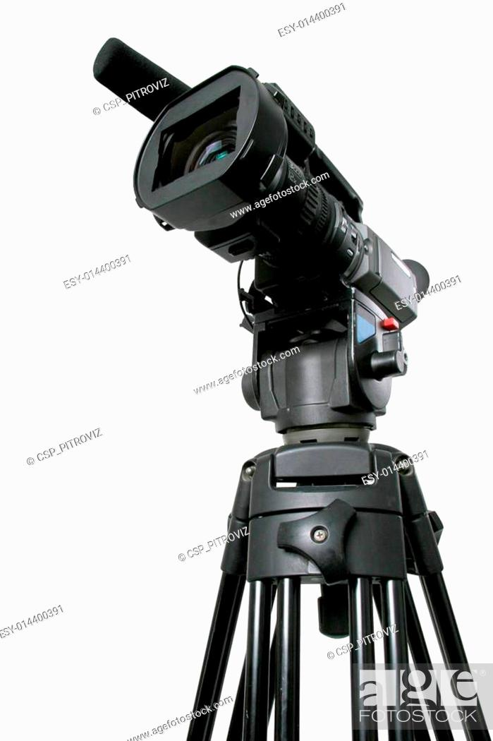 Stock Photo: dv camcorder.