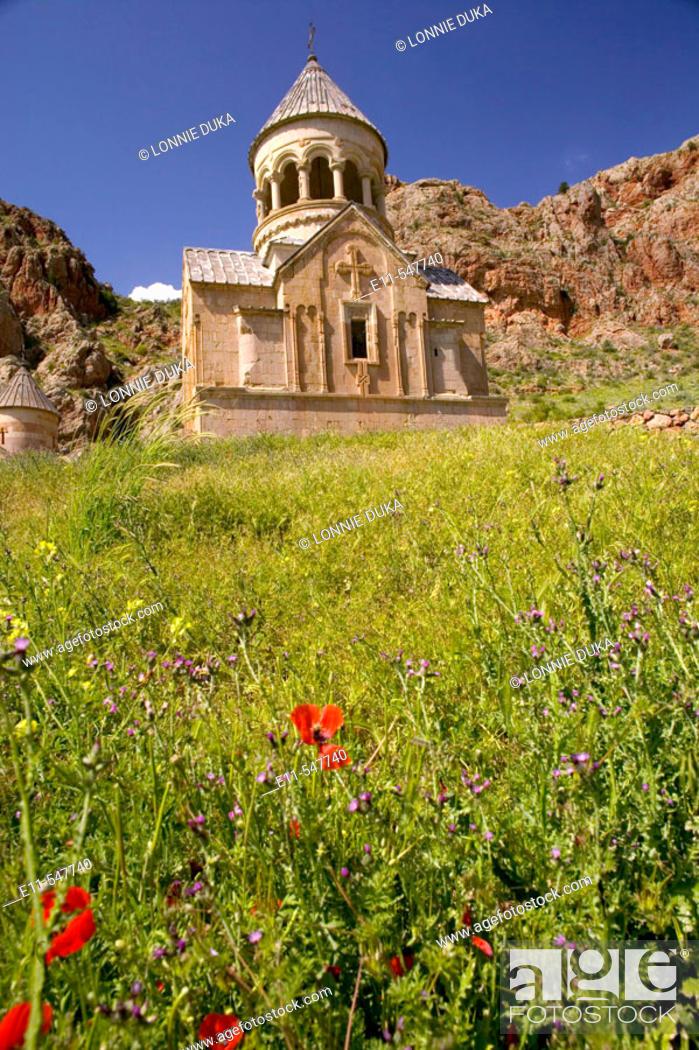 Stock Photo: Abandoned church in Armenia.