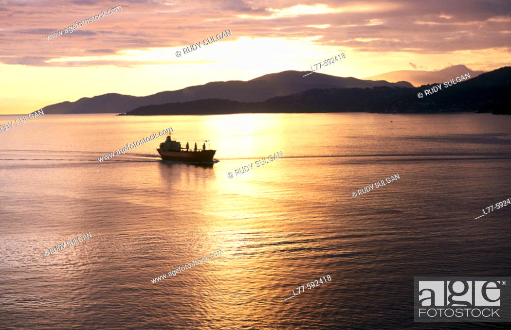 Stock Photo: English Bay. Vancouver. British Columbia. Canada.