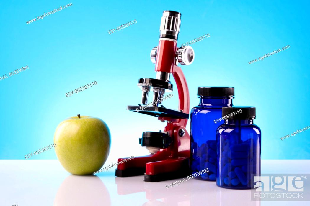 Stock Photo: food science.