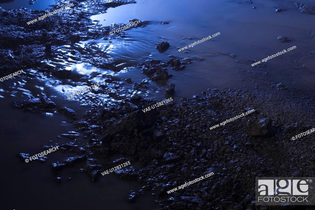 Stock Photo: Debris, Water.