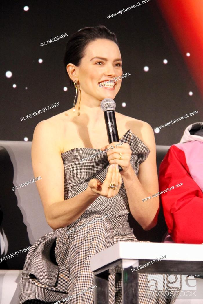 "Stock Photo: Daisy Ridley 12/04/2019 """"Star Wars: The Rise of the Skywalker"""" Press Conference held in Pasadena, CA. Photo by I. Hasegawa / HNW / PictureLux."