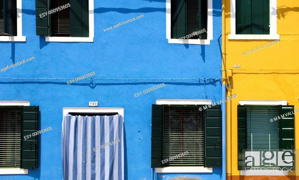 Stock Photo: Burano,Venice,veneto,italy.