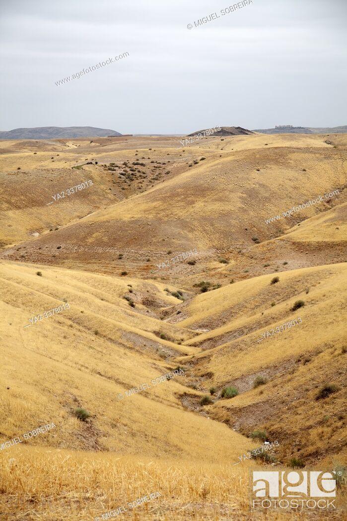 Imagen: Takerkoust Landscape Naer marrakesh, Morocco.