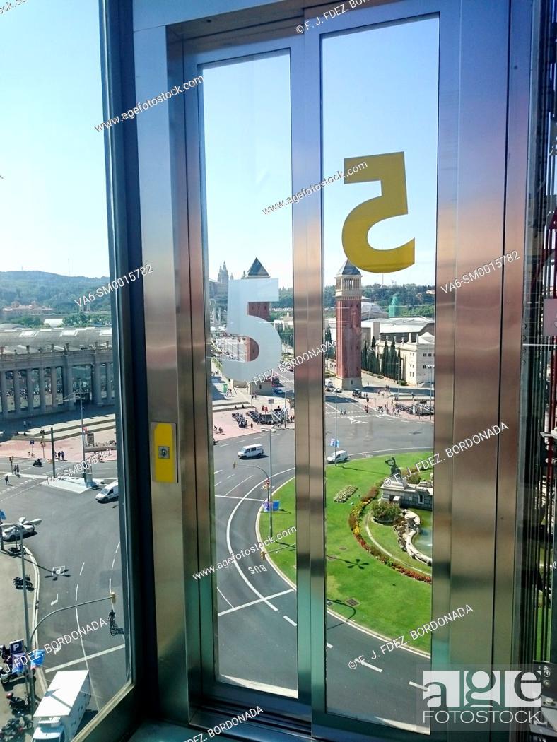 Stock Photo: Arenas Shopping mall, Barcelona, Catalonia, Spain.