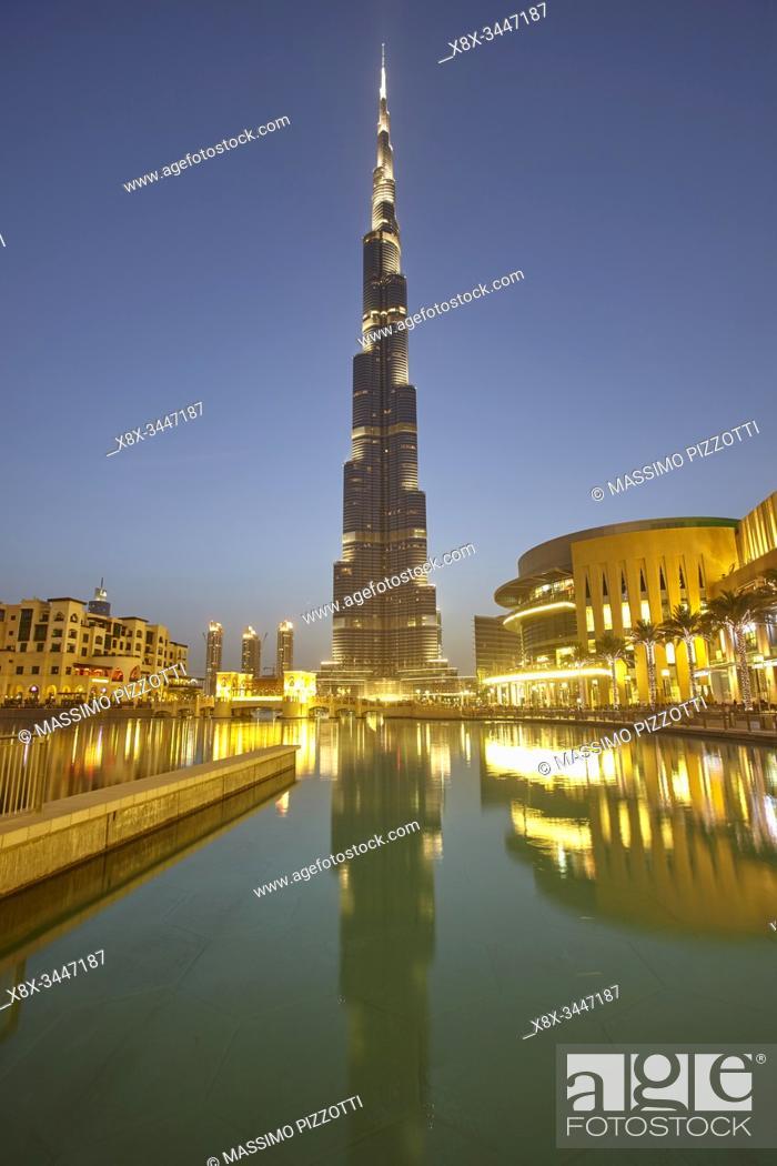 Imagen: Burj Khalifa, Dubai, United Arab Emirates ( UAE ).
