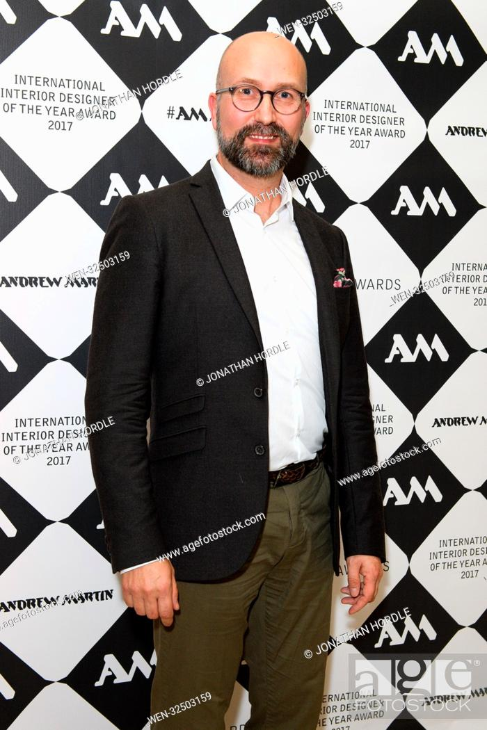 Andrew Martin International Interior Designer Of The Year Awards 2017 At The Royal Academy In London Stock Photo Picture And Rights Managed Image Pic Wen 32503159 Agefotostock