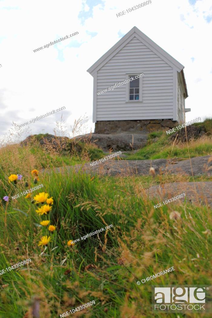 Stock Photo: norwegian house.