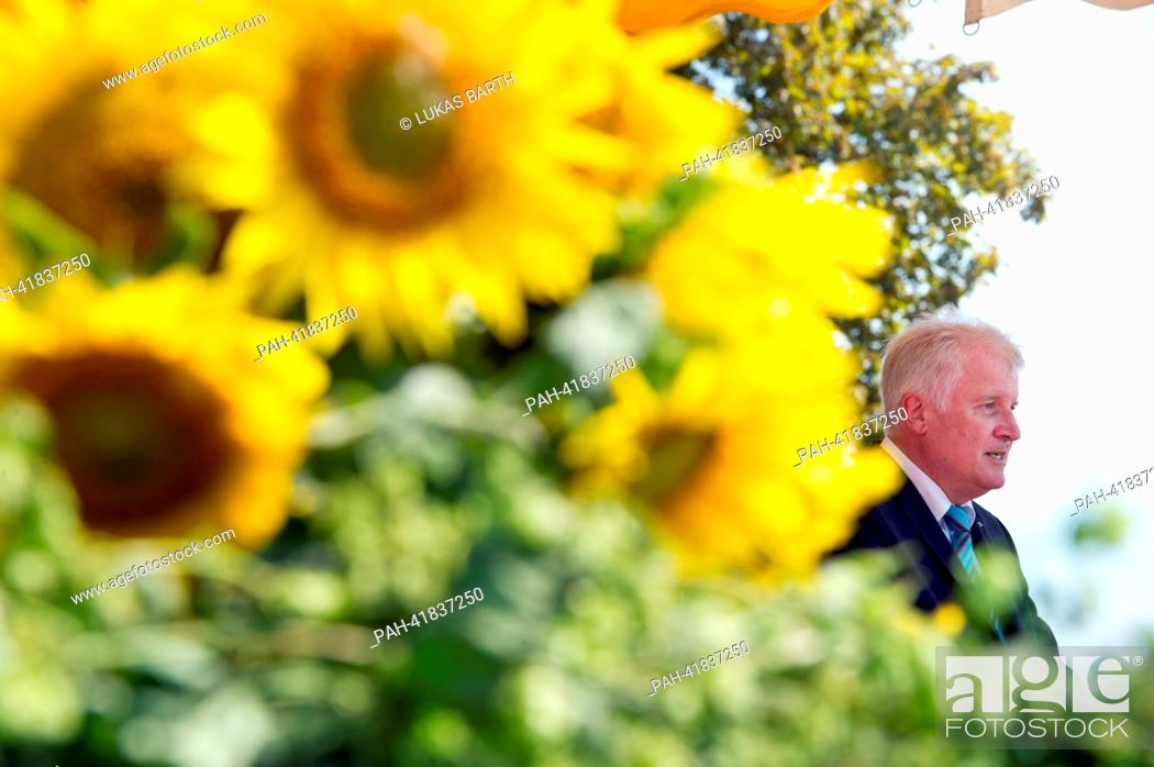 Imagen: Premier of Bavaria Horst Seehofer (CSU) speaks at the meeting of patriots organized by the Association of Royalists on the occasion of the Battle of Gammelsdorf.