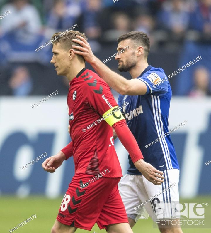 Daniel Caligiuri Ge Troestet Nils Petersen L Fr After