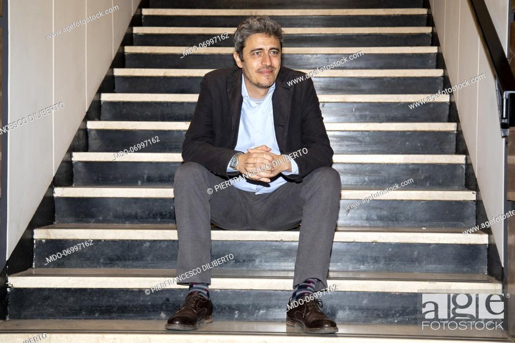 Imagen: Pierfrancesco Diliberto, aka Pif at Palazzo Anteo. Milan (Italy), March 8th, 2019.