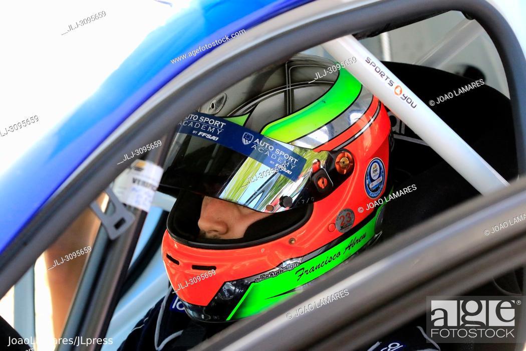 Stock Photo: Francisco Abreu, Peugeot 308 Racing Cup #6, Vila Real, Portugal..