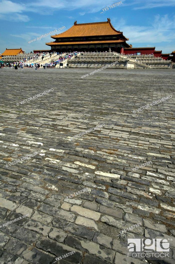 Imagen: Forbidden City, Beijing.