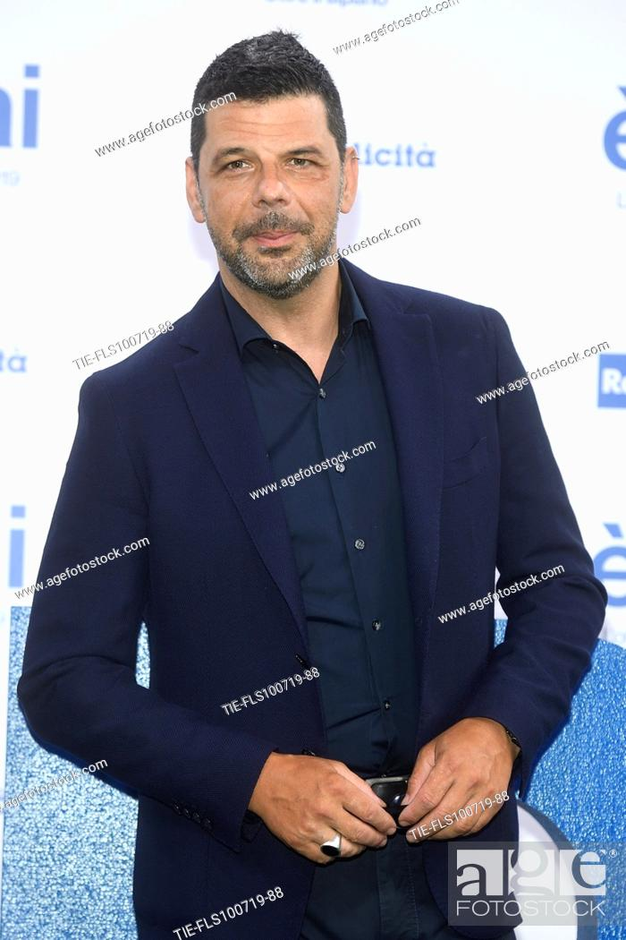 Stock Photo: Salvo Sottile during the Rai programming launch in Milan, ITALY-09-07-2019.