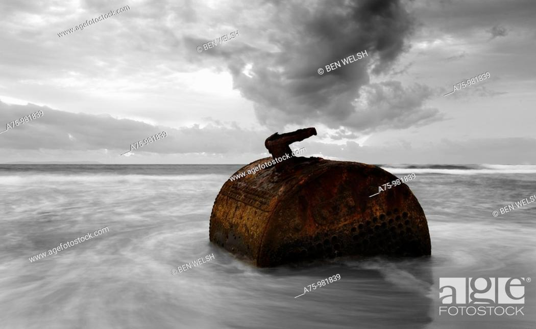 Stock Photo: Flotsam.