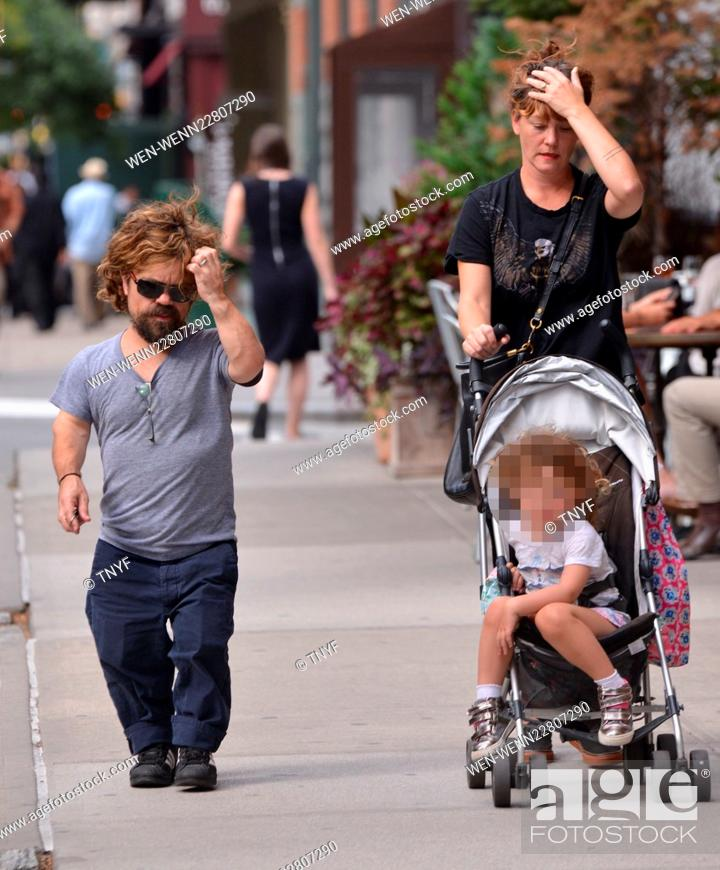 Peter Dinklage Out With His Family Featuring Peter Dinklage Erica