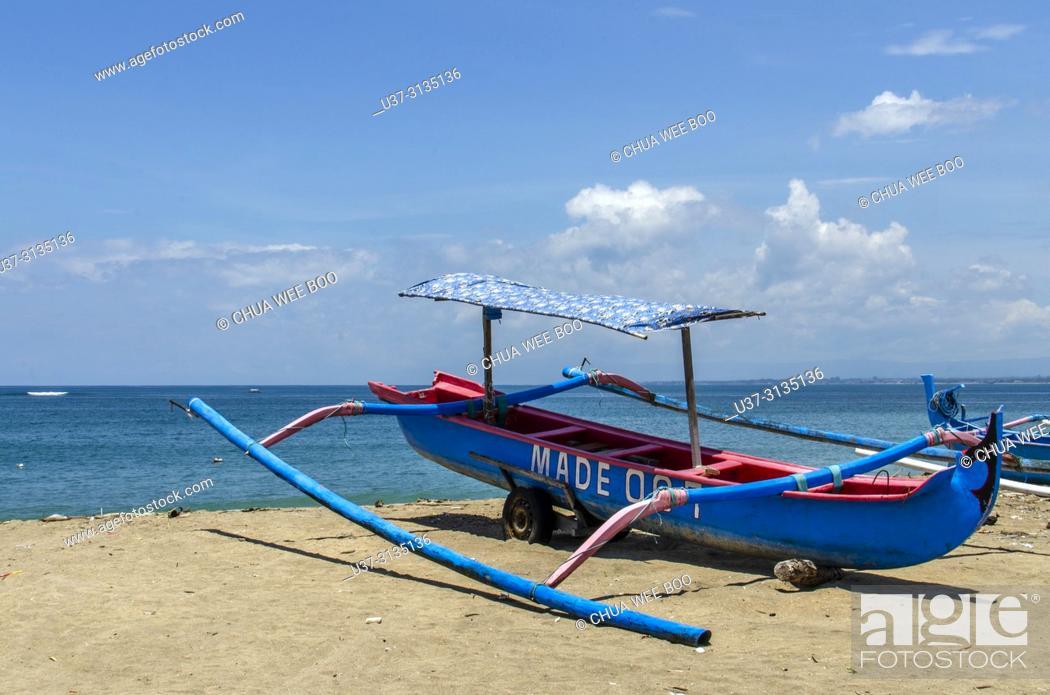 Stock Photo: Kuta Beach, Bali, Indonesia.