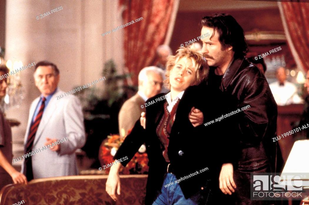 c699e7f70368 Original Film Title: French Kiss, PICTURED: MEG RYAN, KEVIN KLINE,  Composer: James Newton Howard, Director: Lawrence Kasdan, IN CAST: Meg Ryan,  Kevin Kline, ...