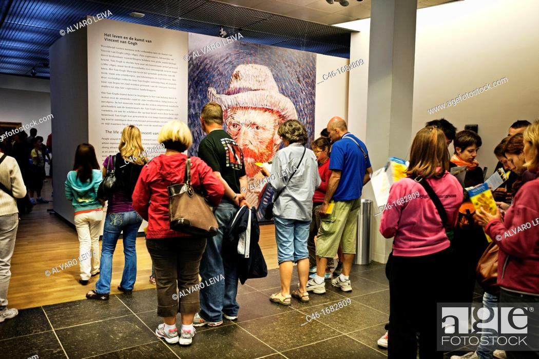 Photo de stock: Van Gogh Museum, Amsterdam, Netherlands.