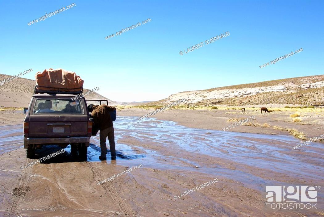 Stock Photo: Desert of Lipez, Department of Potosi, Sud Lipez Province, La Paz, Bolívia.