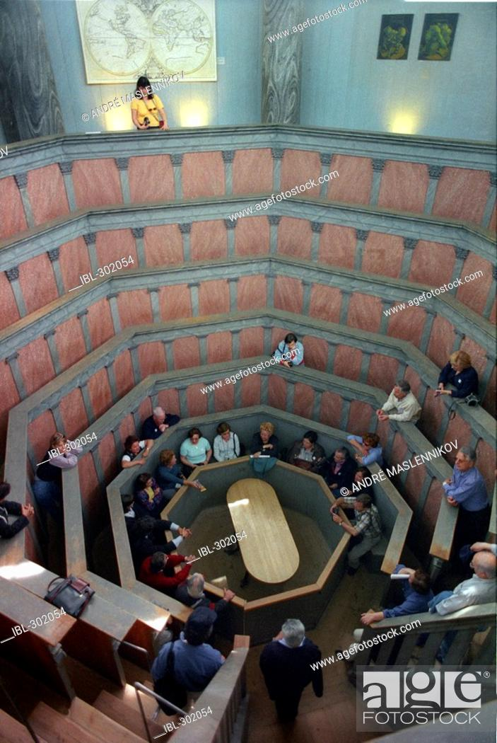 Stock Photo: Anatomic theatre, Gustavianum, Uppsala, Sweden.