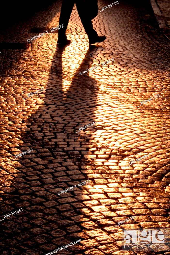 Stock Photo: Cobblestones.