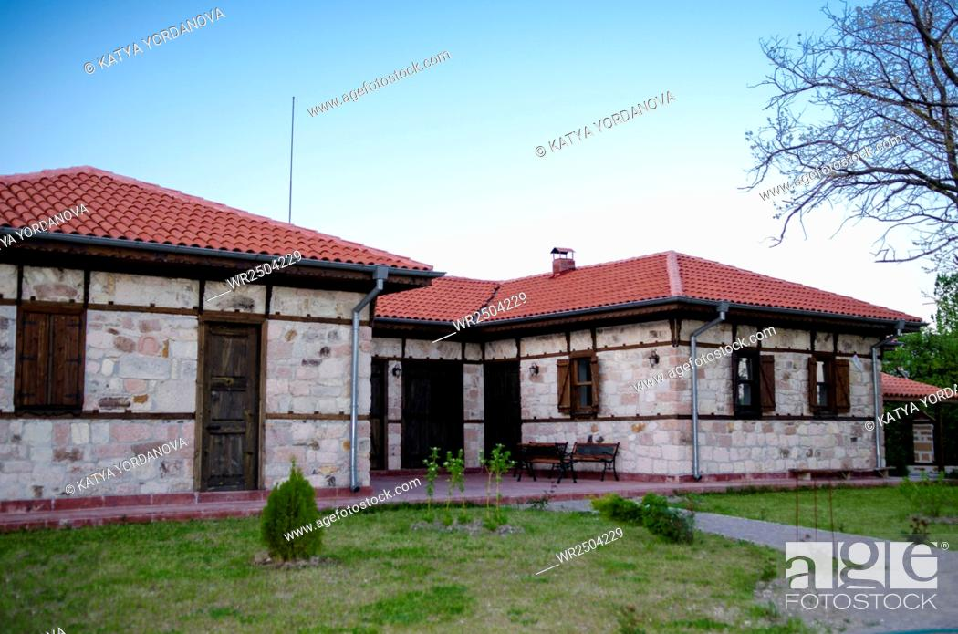 Stock Photo: Elmala baba teke near near Bivolyane village, Momchilgrad, Bulgaria.