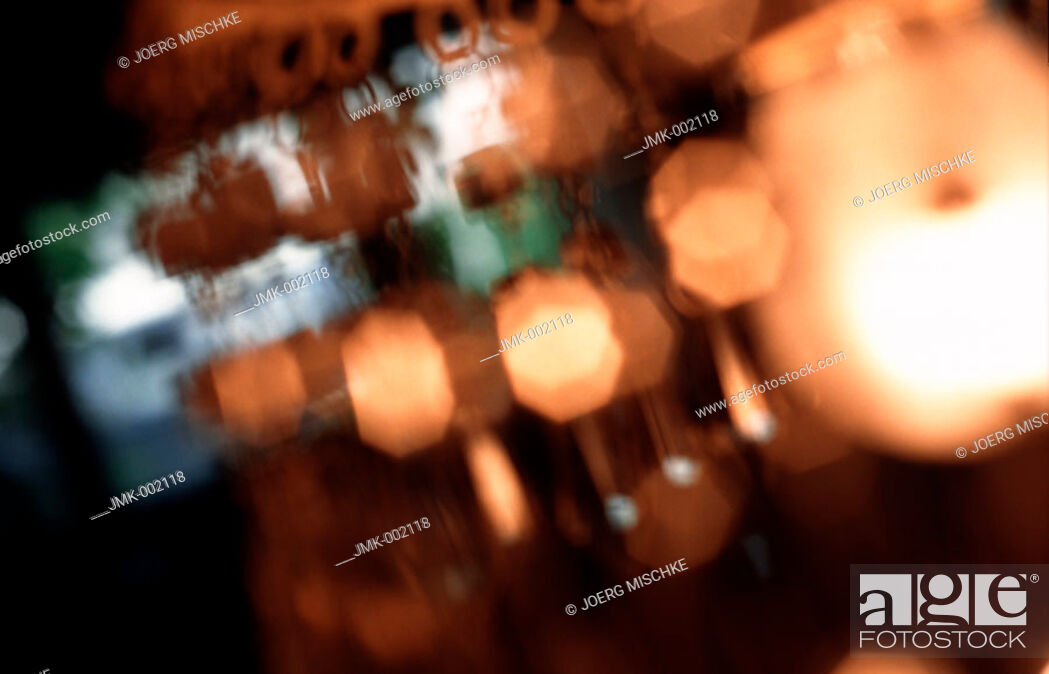 Stock Photo: A lamp, blurred.