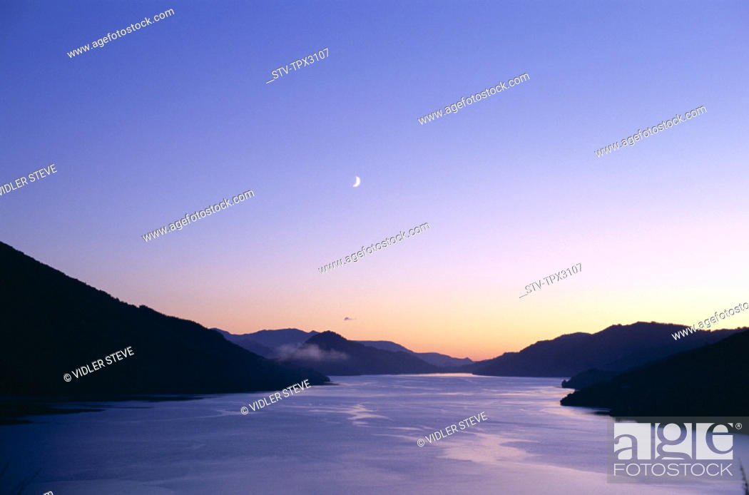 Imagen: Dawn, Holiday, Landmark, Marlborough, Marlborough sounds, New zealand, Queen charlotte sound, South island, Tourism, Travel, Vac.