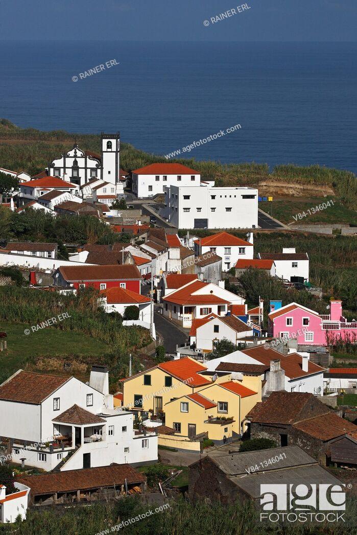 Stock Photo: Ajuda da Bretanha / Sao Miguel Island / Azores / Portugal.