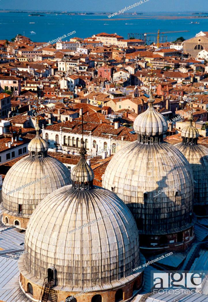 Stock Photo: Basilica San Marco. Venice. Veneto, Italy.