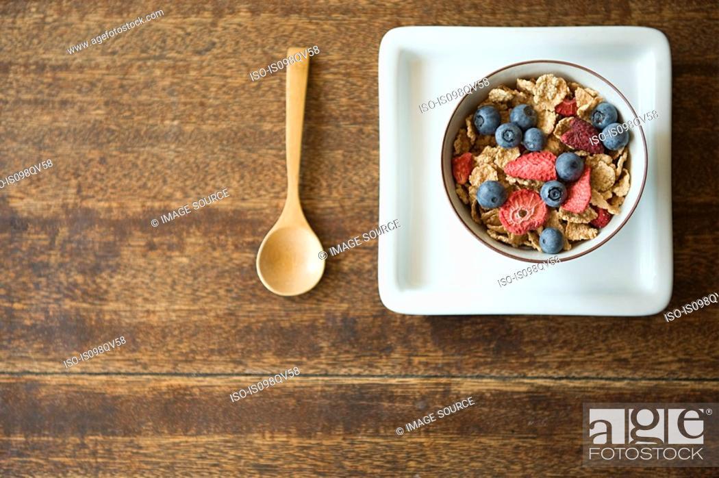 Stock Photo: Breakfast.