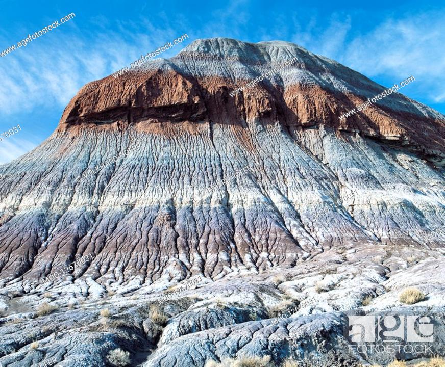 Stock Photo: Desolate mesa.